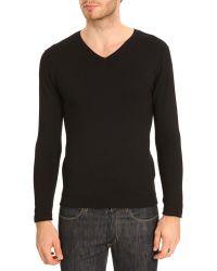 Menlook Label Enzo Black Sweater - Lyst