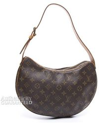 Louis Vuitton Preowned Monogram Canvas Croissant Mm Bag - Lyst