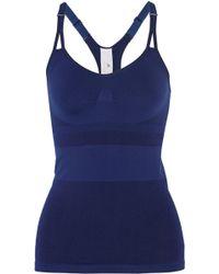 Adidas By Stella Mccartney Essentials Racer-back Stretch Tank - Lyst