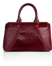Roland Mouret Haircalfleather Tote - Lyst