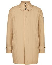 Aquascutum | Kirkman Zip Front Single Breasted Trench | Lyst