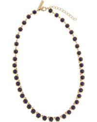 Rachel Zoe - Lapis Collar Necklace - Lyst