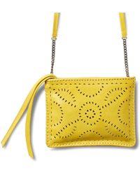 Cleobella - Exclusive Neon Yellow Mexicana Crossbody - Lyst