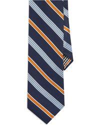 Ben Sherman Blue Striped Tie - Lyst
