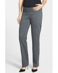 Japanese Weekend | 'office' Straight Leg Maternity Trousers | Lyst