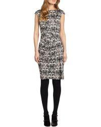 Tory Burch Olida Silk Dress - Lyst