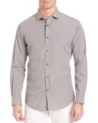 Ralph Lauren Blue Label | Cotton & Silk Sportshirt | Lyst