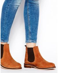 Asos Activity Suede Chelsea Boots - Lyst