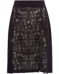 NIC+ZOE | Layered Lace Pencil Skirt | Lyst