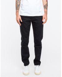 Han Kjobenhavn Black Black Tapered Jeans - Lyst