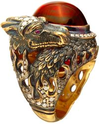 Queensbee - Dragon Year Ring - Lyst