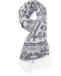Forever 21 - Tribal Print Scarf - Lyst