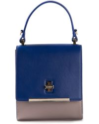 Vionnet Blue Shoulder Bag - Lyst