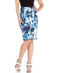 Cynthia Rowley | Bonded Slim Skirt | Lyst