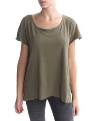 Current/Elliott Oversized Tee - Lyst