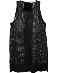 Helmut Lang Perforated Vest - Lyst