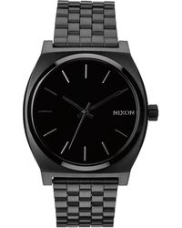 Nixon Time Teller All Black Watch - Lyst
