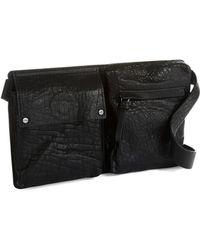 Kenneth Cole - Jane Street Leather Belt Bag - Lyst