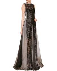 Marios Schwab Embroidered Gown - Lyst