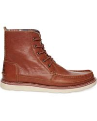 Toms Leather Mens Searcher Boots - Lyst