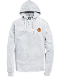 LRG Hooded Thermal Henley Shirt - Lyst