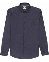 Reiss Battersea Pin-Dot Shirt - Lyst