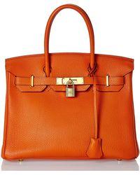 Hermès Vintage Orange H Togo Birkin 30cm - Lyst