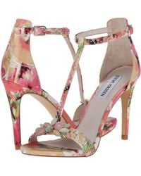 Steve Madden Floral Shawna - Lyst
