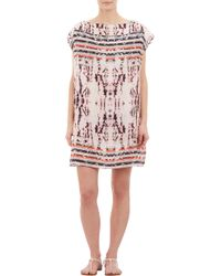 The Textile Rebels Tie Dye and Stripe Tunic - Lyst