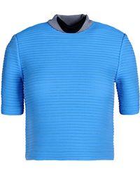 Alexander Wang Short Sleeve Sweater - Lyst