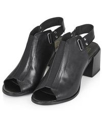 Topshop Juicy Mid-Heel Shoes - Lyst