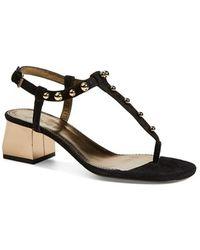 Lanvin Studded Sandal - Lyst