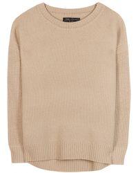 Rag & Bone Adrienne Wool Sweater - Lyst