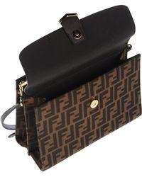 Fendi Handbag brown - Lyst