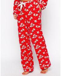 Cath Kidston - Holidays Billie Sleepwear Long Pj Set - Lyst