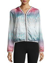 Charlie Jade - Printed Zip-up Hooded Jacket - Lyst