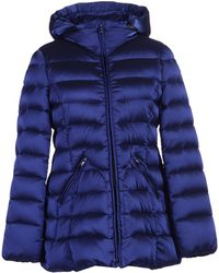 Armani Down Jacket blue - Lyst
