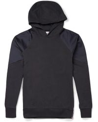 Paul Smith Panelled Cotton Hoodie - Lyst