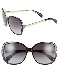 Marc By Marc Jacobs 57Mm Oversized Sunglasses - Lyst