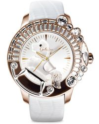 Galtiscopio - 'la Giostra I' Rocking Horse Crystal Watch - Lyst