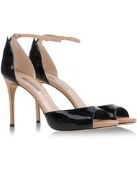 Casadei Pumps With Open Toe - Lyst