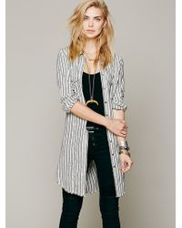 Free People Between The Lines Buttondown - Lyst