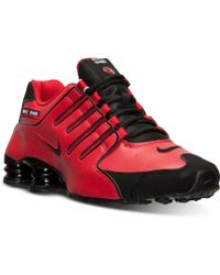 Nike Mens Shox Nz Running Sneakers From Finish Line - Lyst