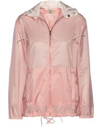 Miu Miu Hooded Shell Parka - Lyst