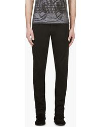 Costume National Black Skinny Jeans - Lyst