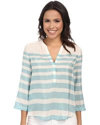 Tommy Bahama Augustus Stripe Pop Over Top - Lyst