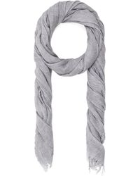 Vince Fringed Scarf - Lyst