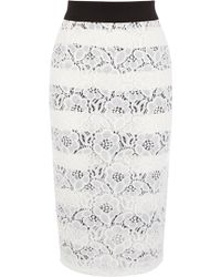 Coast Millas Lace Skirt - Lyst