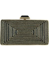Judith Leiber Couture Crystal Rectangle Clutch Bag - Lyst