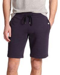 Moncler Drawstring Sweat Shorts - Lyst